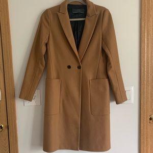 17a85b5a Zara Jackets & Coats | Camel Coat | Poshmark